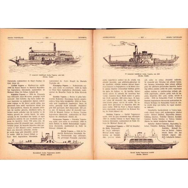 Reşad Ekrem Koçu'nun kaleme aldığı İstanbul Ansiklopedisi [İkinci Cilt], İstanbul 1959, 500 sayfa, 20x28 cm