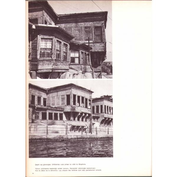 Köçeoğlu Yalısı Bebek, Sedad Hakkı Eldem, yazarından imzalı, resimli, arka kapak bir kenarı kopuk, 113 sayfa, 24x34 cm
