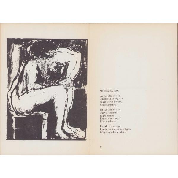 Ah Min-el Aşk şiirler, Ferit Edgü, Ada Yayınları, 128 sayfa, 20x14 cm