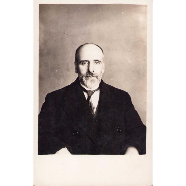 Edebiyatçı Yazar ve Şair Tahir Olgun [Tahirü'l-Mevlevi], 8x13 cm